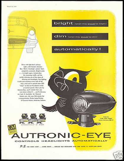 Oldsmobile GM Autronic Eye Headlight (1956)
