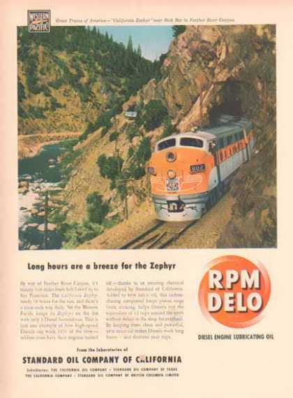 Western Pacific Zephyr in Standard Oil – Sold (1948)