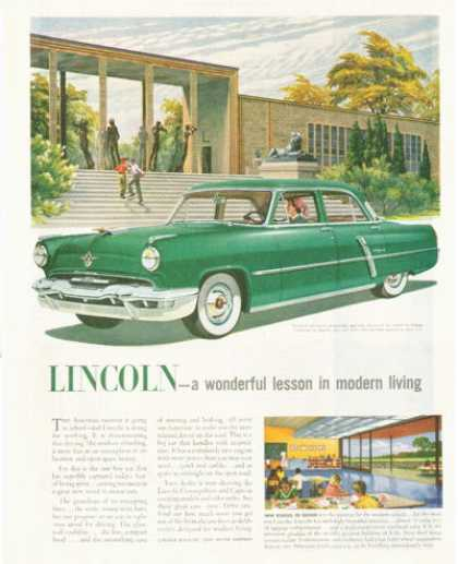 Lincoln Capri Local School (1952)