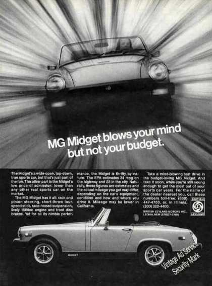 Mg Midget Blows Your Mind Not Your Budget (1978)