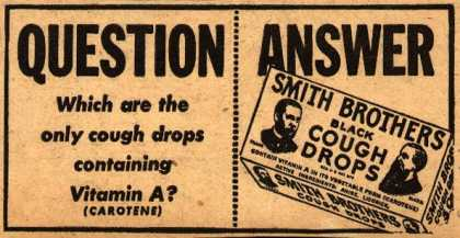 Smith Brothers – Question, Answer (1939)