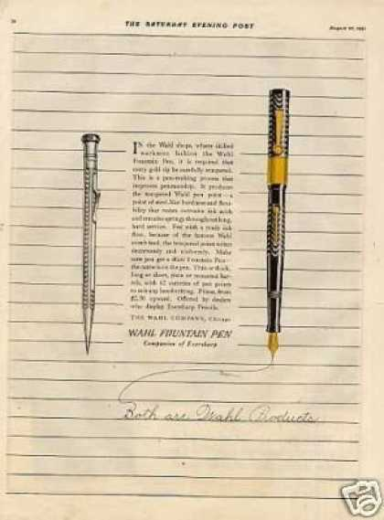 Wahl Fountain Pen (1921)