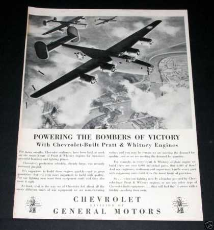 - Chevrolet Built P&w Engines (1943)