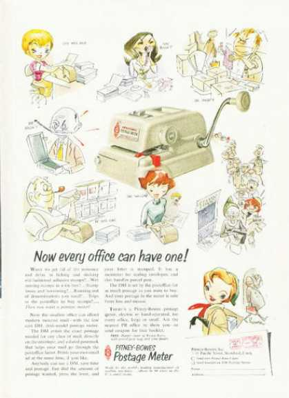 Pitney Bowes Postage Meter (1955)