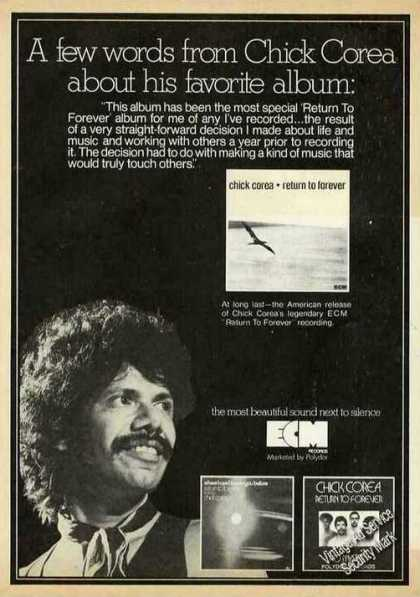 Chick Corea Photo Collectible Music (1975)