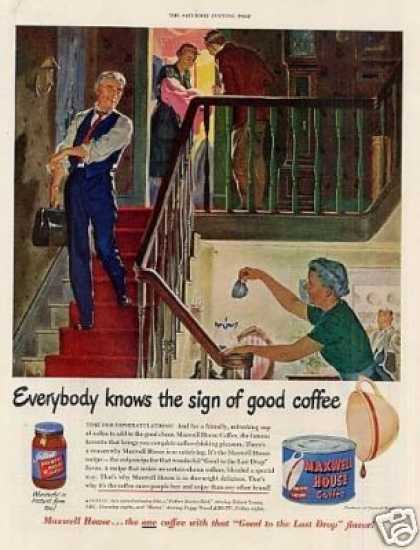 Maxwell House Coffee (1950)