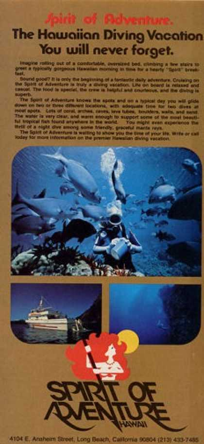 Spirit of Adventure Hawaii Dive T (1978)