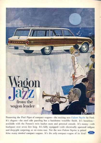 Ford Falcon Squire Station Wagon Jazz (1962)