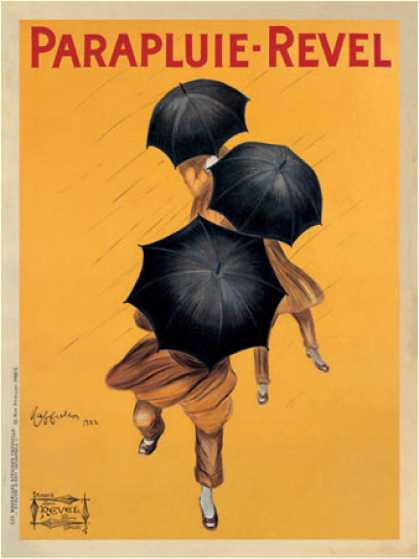 Parapluie-Revel by Leonetto Cappiello (1922)