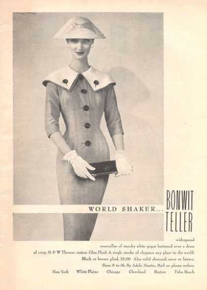 Bonwit Teller World Shaker Fashion (1956)