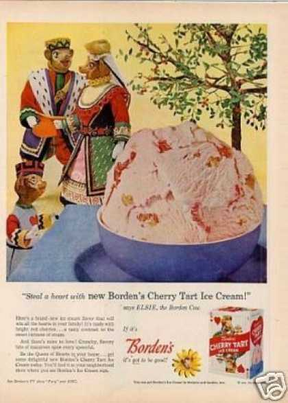 Borden's Cherry Tart Ice Cream (1959)
