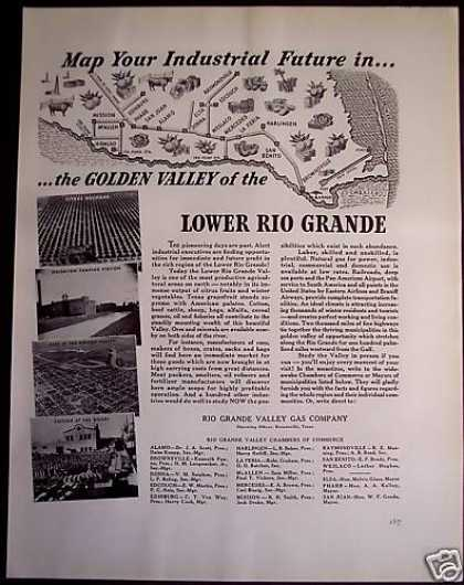 Lower Rio Grande Valley Travel (1941)
