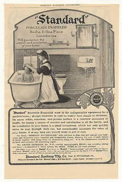 Standard Bath Lavatory Bathroom (1905)