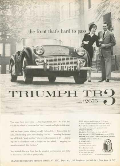 Triumph Tr-3 Grand Touring Sports Car (1958)