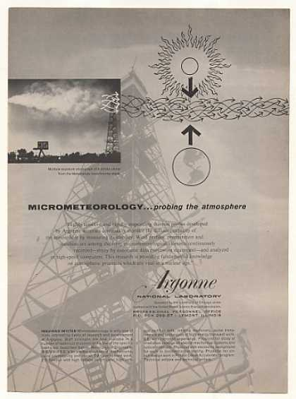 Argonne National Lab Micrometeorolog (1958)