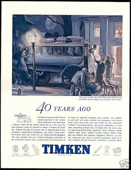 Timken Roller Bearing Co County Coach (1938)