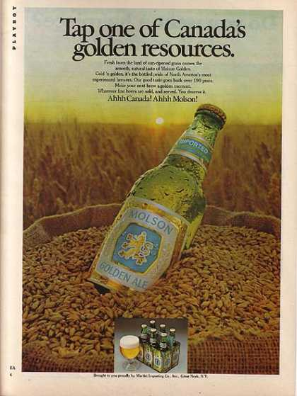 Molson's Golden Ale (1977)