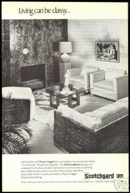 Thayer Coggin Furniture Baughman 3M Photo (1968)