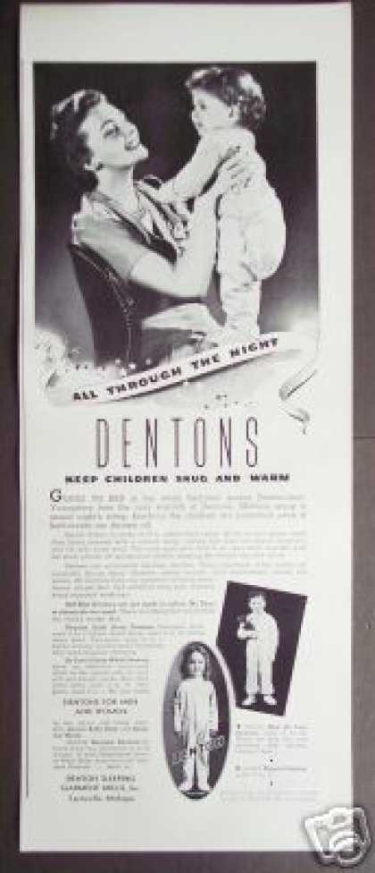 Dentons Baby Sleep Wear Original (1941)