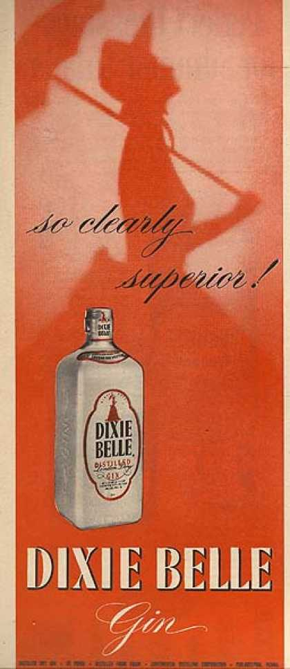 Dixie Belle's Distilled London Dry Gin (1956)