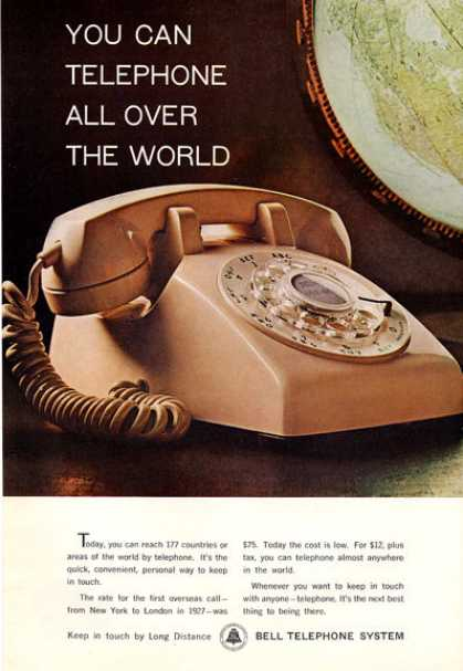 Bell Telephone System Desk Phone (1964)