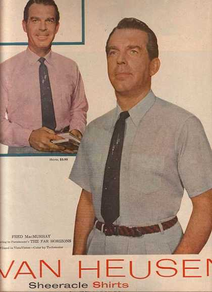 Van Heusen's Sheeracle Shirts (1955)