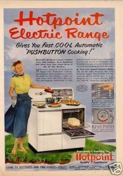 Hotpoint Electric Range (1950)