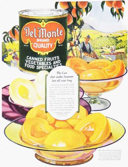 Del-Monte Canned Fruits