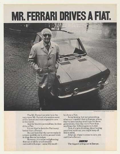 Mr Ferrari Drives a Fiat Photo (1971)