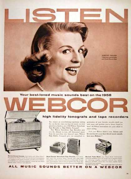 Webcor Phonograph #2 (1957)