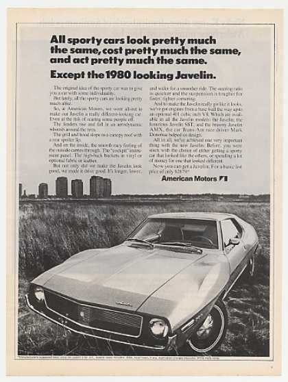 AMC American Motors Javelin 1980 Looking (1971)