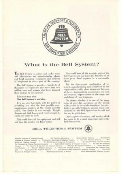 Bell System Telephone What Is It Idea (1963)