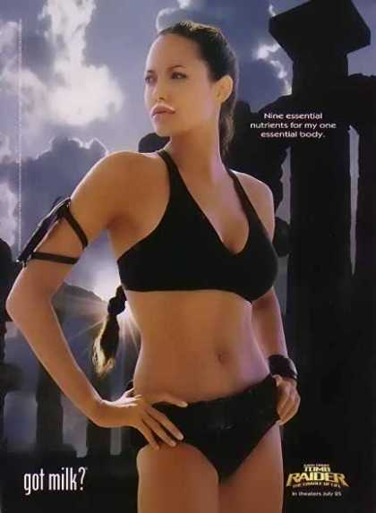 Lara Croft – GOT MILK (2003)