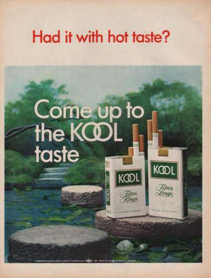 Come Up To the Kool Cigarette Taste (1969)