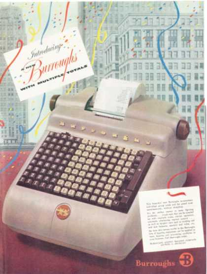 Burroughs Adding Machine Accounting (1952)