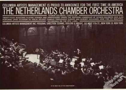 The Netherlands Chamber Orchestra Photo (1961)