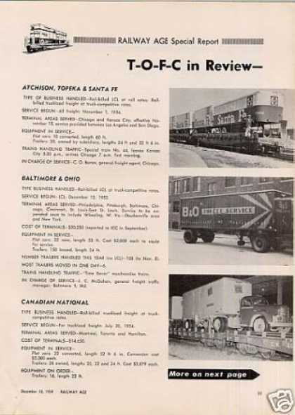 """Tofc In Review"" Article ***9 Page*** (1954)"