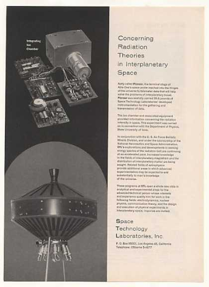 STL Space Technology Labs Pioneer Space Probe (1958)