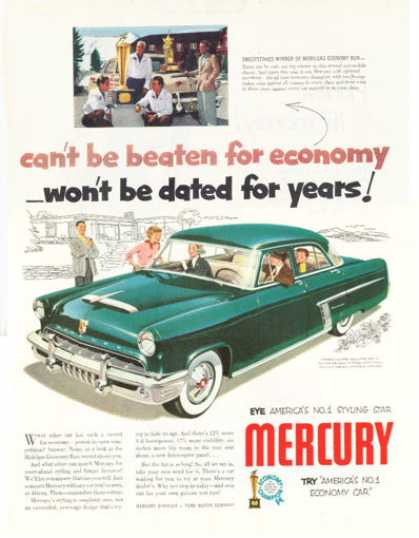 Mercury Monterey 4 Door (1952)