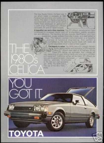 Toyota Celica GT Liftback Photo Vintage Car (1978)