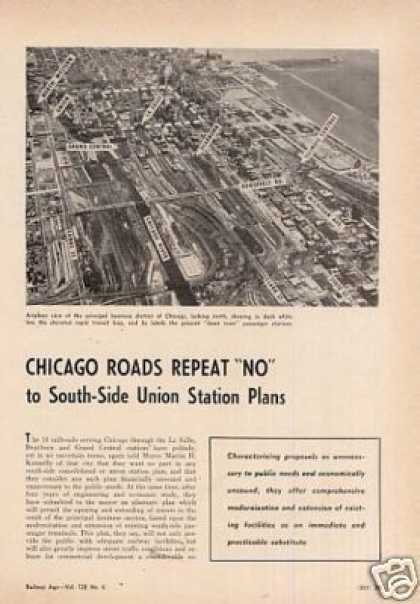 """Chicago Roads Repeat No"" Article/south-s (1950)"