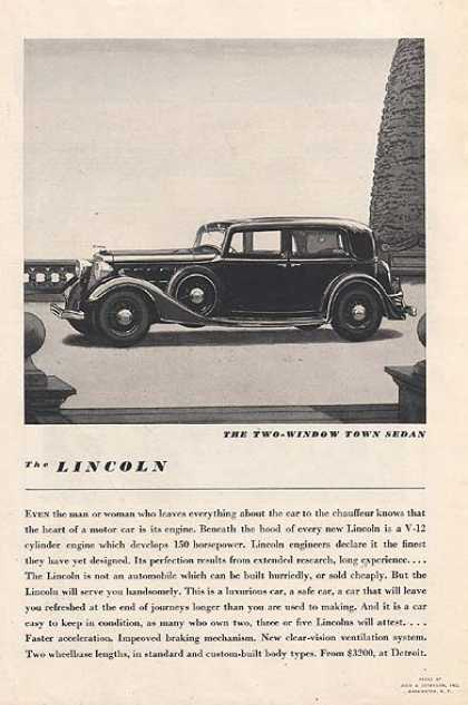 Ford's Lincoln (1934)