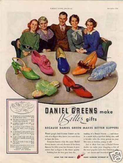 Daniel Green Slippers (1935)
