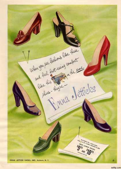 Enna Jettick Shoes (1952)