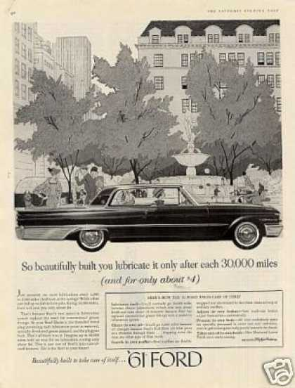 "Ford Car Ad ""So Beautifully Built... (1961)"