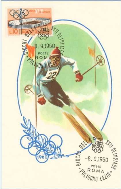 Winter Olympics, Downhill Skiing (1960)