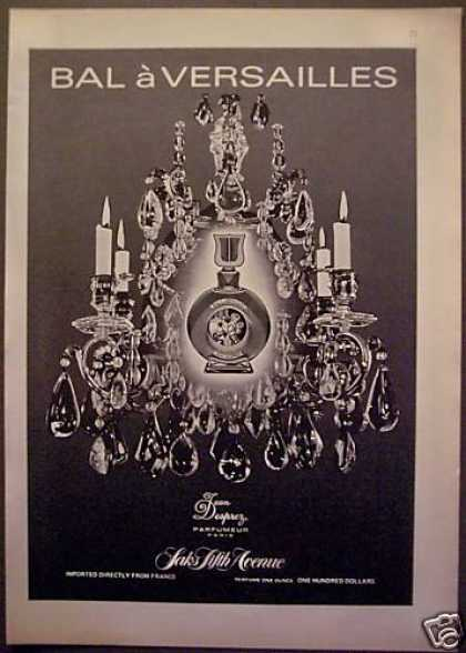Bal a Versailles Perfume Saks Fifth Ave (1975)