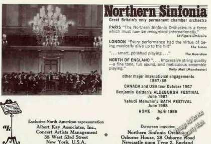 Northern Sinfonia Great Britain's Orchestra (1967)