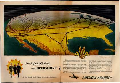 American Airlines – Mind if We Talk About Our Operation? (1949)