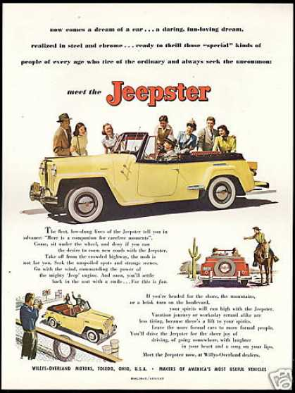 Jeep Jeepster Willys Overland Motors (1948)